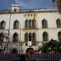 Dar Hassan Pacha, ex-palais d'hiver - Vue de la façade