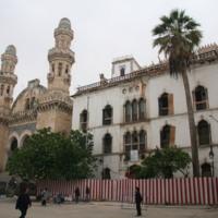 Dar Hassan Pacha, ex-palais d'hiver - Vue de la façade et emplacement